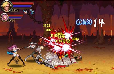 Screenshots vom Spiel Sword of Inferno für iPhone, iPad oder iPod.