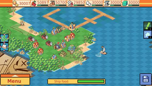 Screenshots vom Spiel Swords and crossbones: An epic pirate story für iPhone, iPad oder iPod.