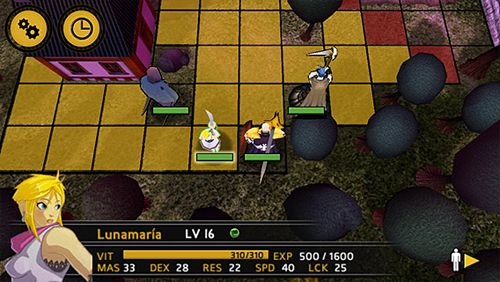 Screenshots vom Spiel Swords of Anima für iPhone, iPad oder iPod.