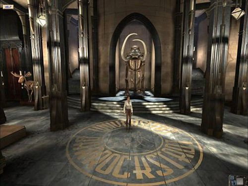 Screenshots of the Syberia game for iPhone, iPad or iPod.