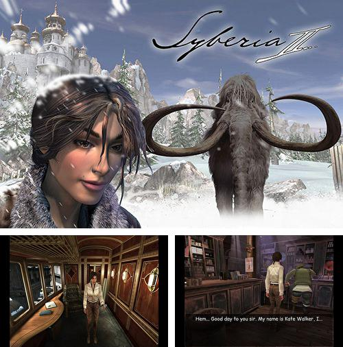 In addition to the game Boulder Dash for iPhone, iPad or iPod, you can also download Syberia 2 for free.