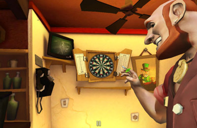 Screenshots of the T-80 Darts game for iPhone, iPad or iPod.