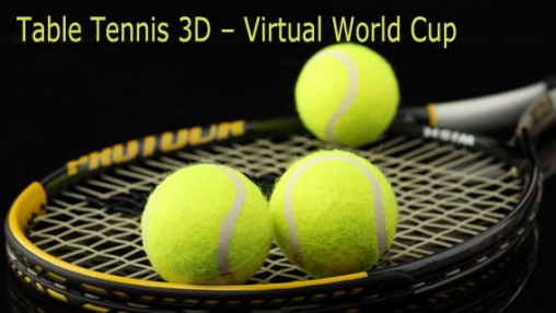Table Tennis 3D – Virtual World Cup
