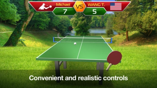 Игра Table Tennis 3D – Virtual World Cup для iPhone