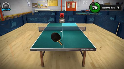 Screenshots vom Spiel Table tennis touch für iPhone, iPad oder iPod.