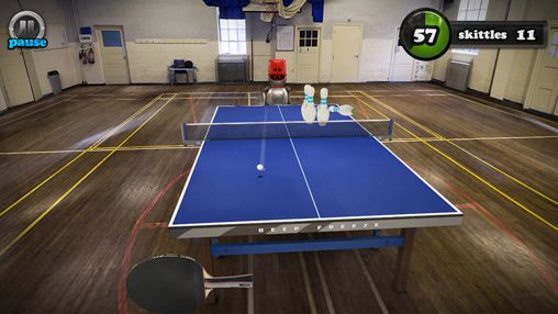 Écrans du jeu Table tennis touch pour iPhone, iPad ou iPod.