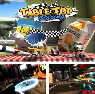 In addition to the game Tobuscus adventures: Wizards for iPhone, iPad or iPod, you can also download TABLE TOP RACING for free.