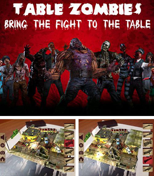 En plus du jeu Epoque du vent 2 pour iPhone, iPad ou iPod, vous pouvez aussi télécharger gratuitement Zombis de tables: Jeu de la réalité complétée, Table zombies: Augmented reality game.