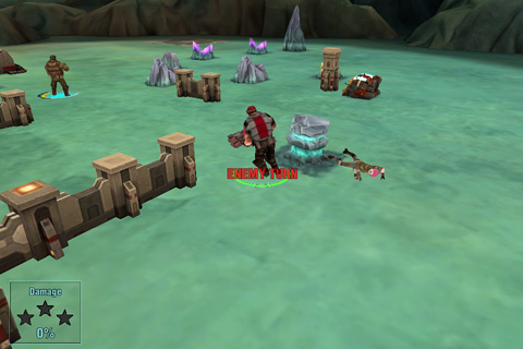 Screenshots of the Tactical heroes game for iPhone, iPad or iPod.