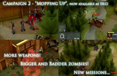 Écrans du jeu Tactical Soldier - Undead Rising pour iPhone, iPad ou iPod.