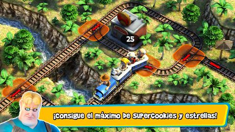 下载免费 iPhone、iPad 和 iPod 版Tadeo Jones: Train Crisis。