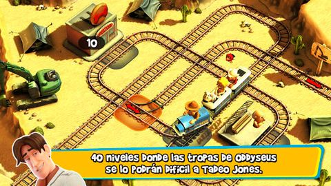 Гра Tadeo Jones: Train Crisis для iPhone