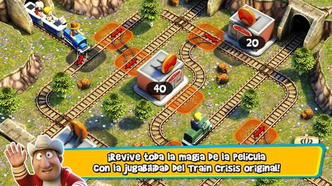 Screenshots of the Tadeo Jones: Train Crisis game for iPhone, iPad or iPod.