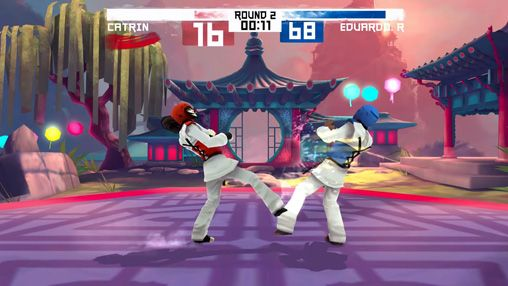 Kostenloser Download von Taekwondo game: Global tournament für iPhone, iPad und iPod.