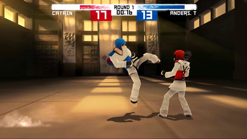 Screenshots vom Spiel Taekwondo game: Global tournament für iPhone, iPad oder iPod.