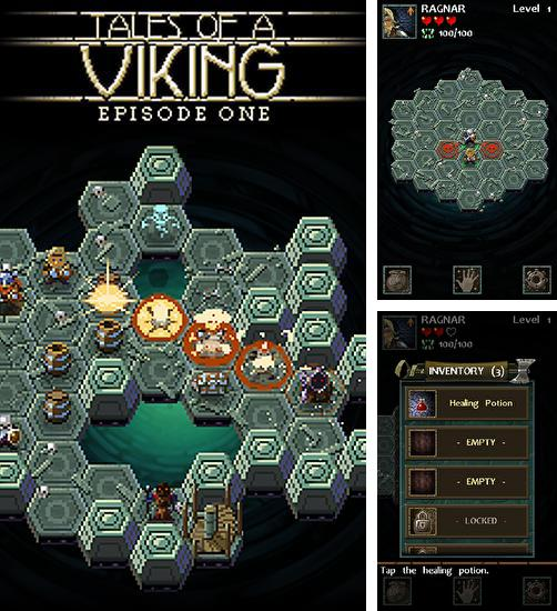 除了 iPhone、iPad 或 iPod 游戏,您还可以免费下载Tales of a Viking: Episode one, 。