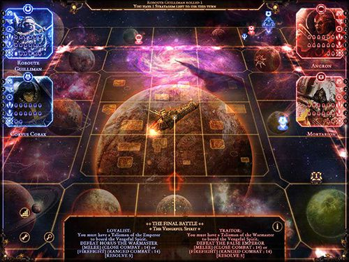 Download Talisman: Horus heresy iPhone free game.