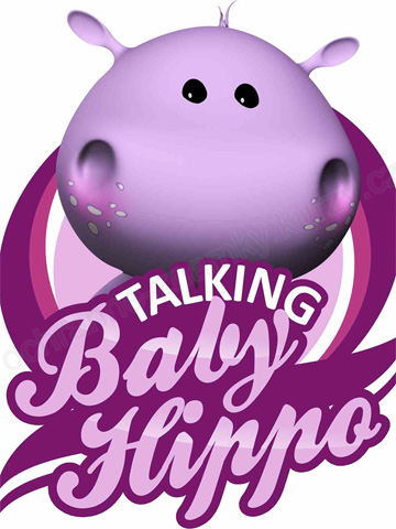 Talking baby hippo
