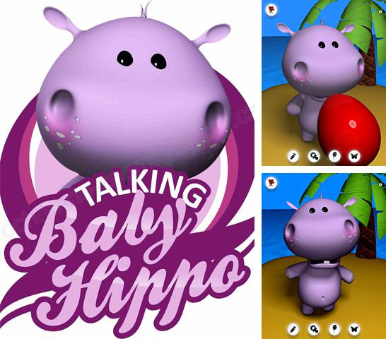 Скачать Talking baby hippo на iPhone бесплатно