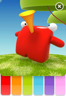Screenshots of the Talking Carl! game for iPhone, iPad or iPod.