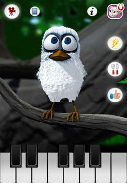 Kostenloser Download von Talking Larry the Bird für iPhone, iPad und iPod.