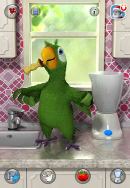 Скачать Talking Pierre the Parrot на iPhone бесплатно