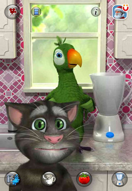 Kostenloser Download von Talking Pierre the Parrot für iPhone, iPad und iPod.
