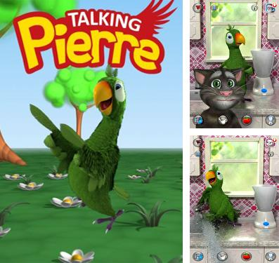 In addition to the game World surf tour for iPhone, iPad or iPod, you can also download Talking Pierre the Parrot for free.