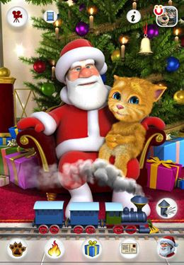 Скачать Talking Santa for iPhone на iPhone бесплатно