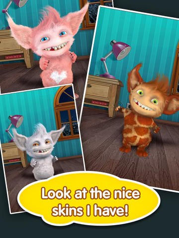 Screenshots of the Talking Spooni game for iPhone, iPad or iPod.