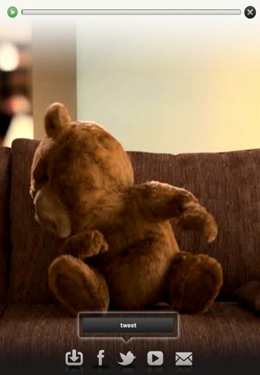 Capturas de pantalla del juego Talking Ted Uncensored para iPhone, iPad o iPod.