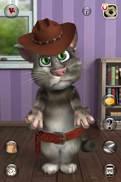 Kostenloser Download von Talking Tom Cat 2 für iPhone, iPad und iPod.