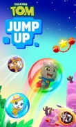 下载Talking Tom jump up免费 iPhone 游戏。