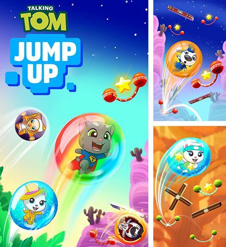 Download Talking Tom jump up iPhone free game.