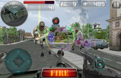 Screenshots do jogo Tank Battle para iPhone, iPad ou iPod.
