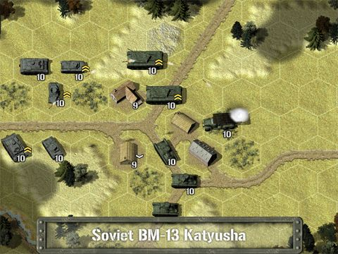 Игра Tank battle: East front 1941 для iPhone