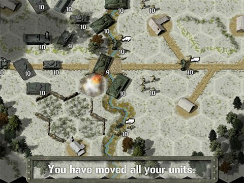 Геймплей Tank battle: East front 1941 для Айпад.