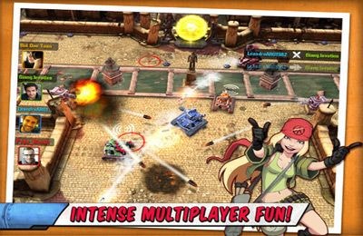Free Tank Battles - Explosive Fun! download for iPhone, iPad and iPod.