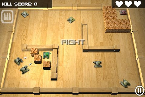 Download Tank hero iPhone free game.