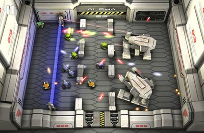 Screenshots do jogo Tank Hero: Laser Wars para iPhone, iPad ou iPod.