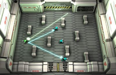 Screenshots of the Tank Hero: Laser Wars game for iPhone, iPad or iPod.