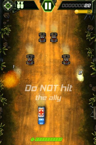 Screenshots of the Tank invaders: War against terror game for iPhone, iPad or iPod.