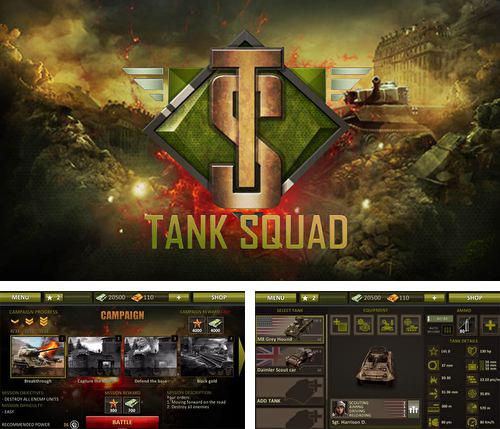 In addition to the game My friend Scooby-Doo! for iPhone, iPad or iPod, you can also download Tank squad for free.