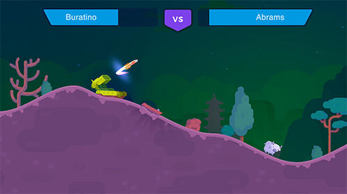Screenshots of the Tank stars game for iPhone, iPad or iPod.