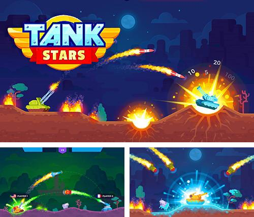 In addition to the game Deadly Moto Racing for iPhone, iPad or iPod, you can also download Tank stars for free.
