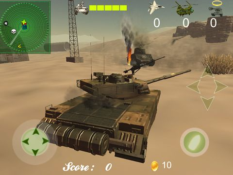 Screenshots of the Tank titans game for iPhone, iPad or iPod.