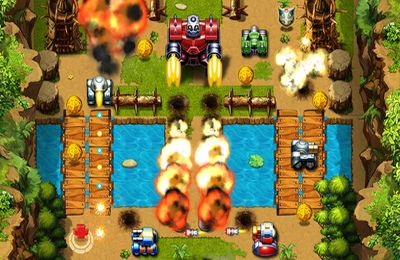 Descarga gratuita del juego Guerra de Tanques 2012 para iPhone.