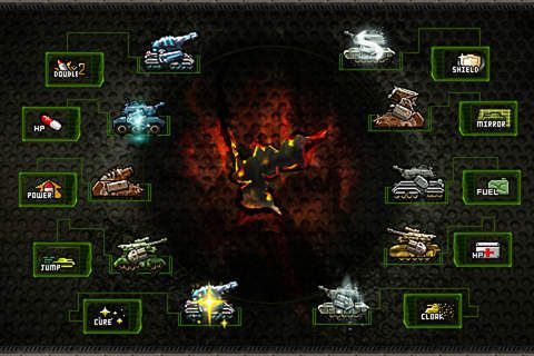Download Tank warz iPhone free game.