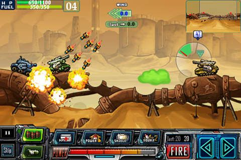 Free Tank warz download for iPhone, iPad and iPod.