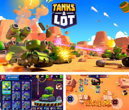 In addition to the game Zombie Smash for iPhone, iPad or iPod, you can also download Tanks a lot for free.